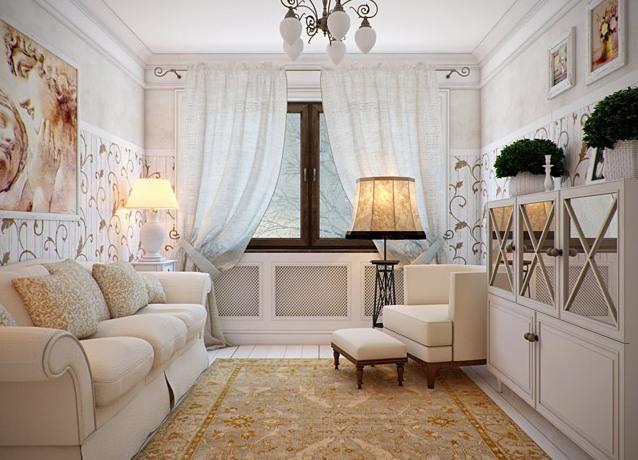 Дизайн квартиры прованс