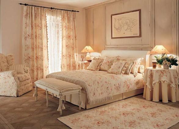 фото дизайн спальни прованс
