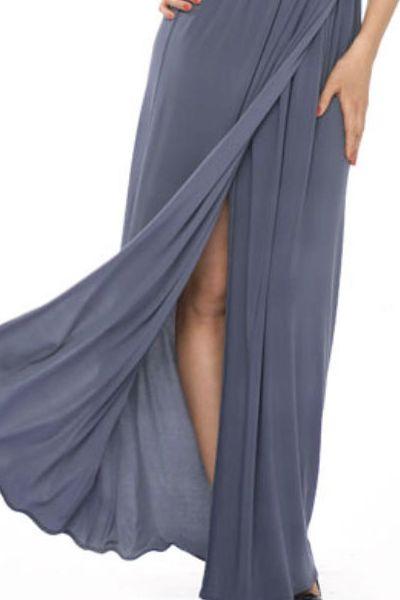 Сшить юбку в пол с запахом