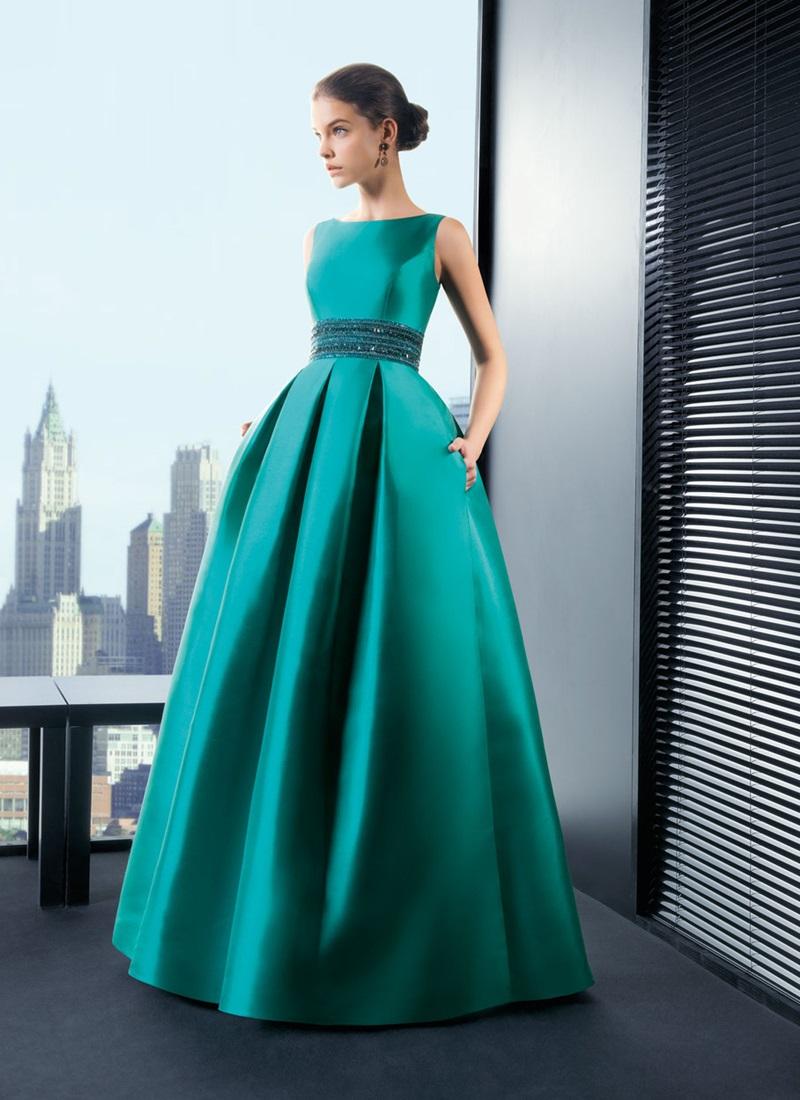Атласные платья в пол фото
