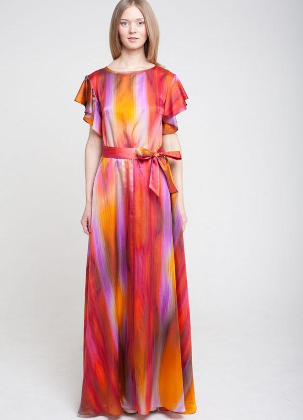 Женские длинные летние платья фото