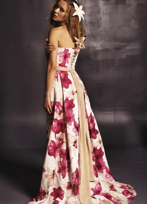 Длинные платья 2013