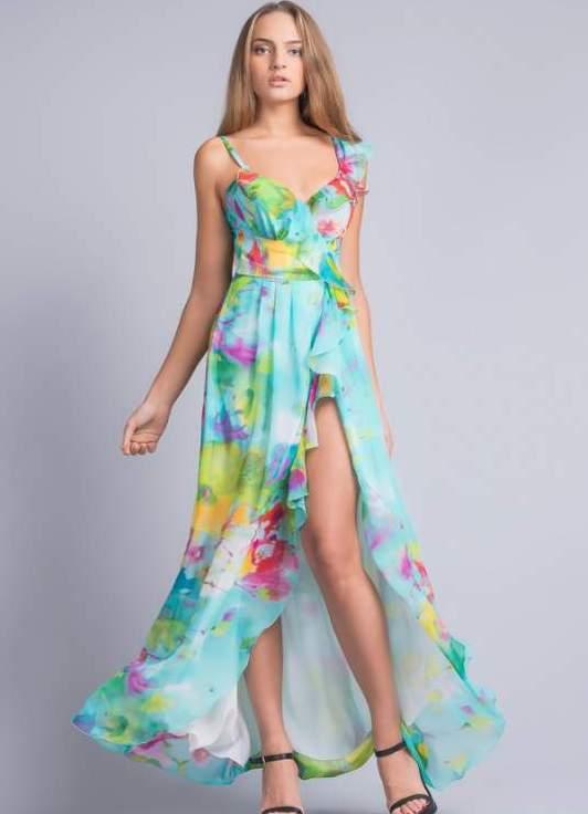 Платье на лето своими руками длинное