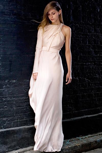 Шелковые платья в пол фото