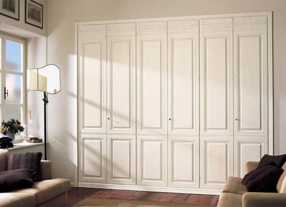 Двери для встроенного шкафа распашные своими руками
