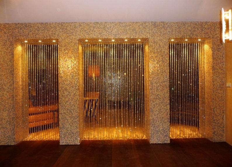Декоративные шторы для дверного проема своими руками 27