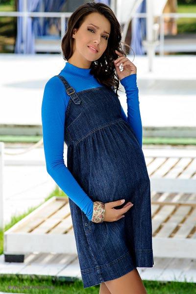 фото джинсовые сарафаны для беременных
