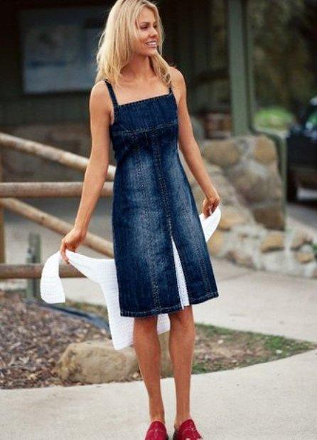 джинсовые сарафаны 2013 1