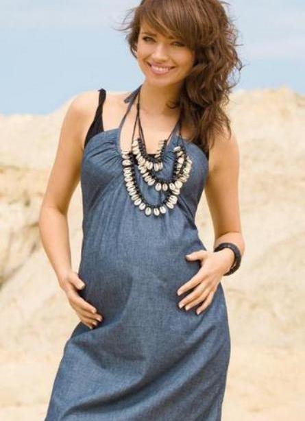 Потом стало жарко и я сшила длинный сарафан. платье для беременной своими руками. как сшить летний сарафан самой. как