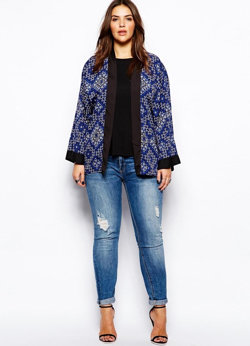 Фото джинсы для полных стильных женщин