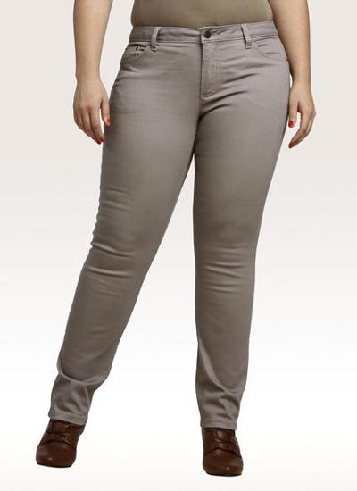 Зауженные классические брюки