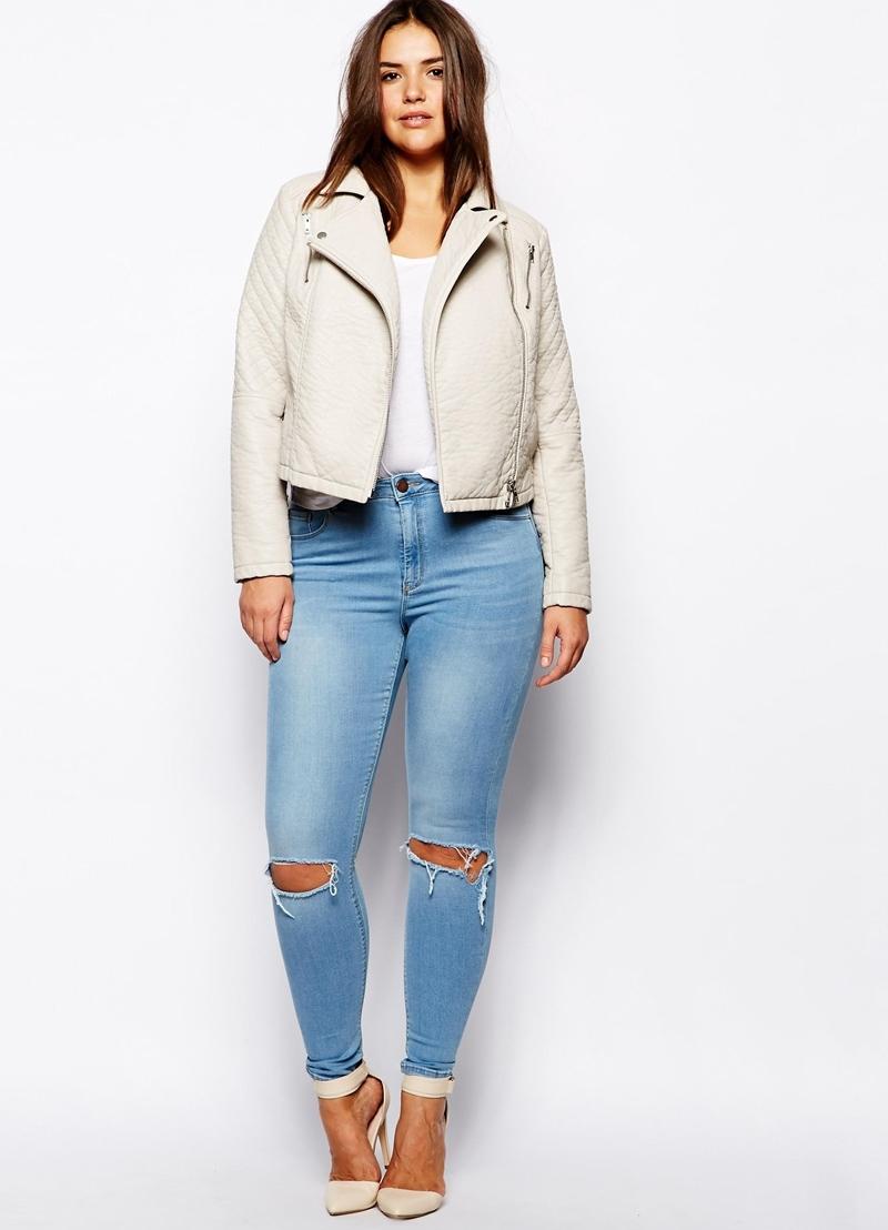 Брюки женские джинсы рваные джинсы