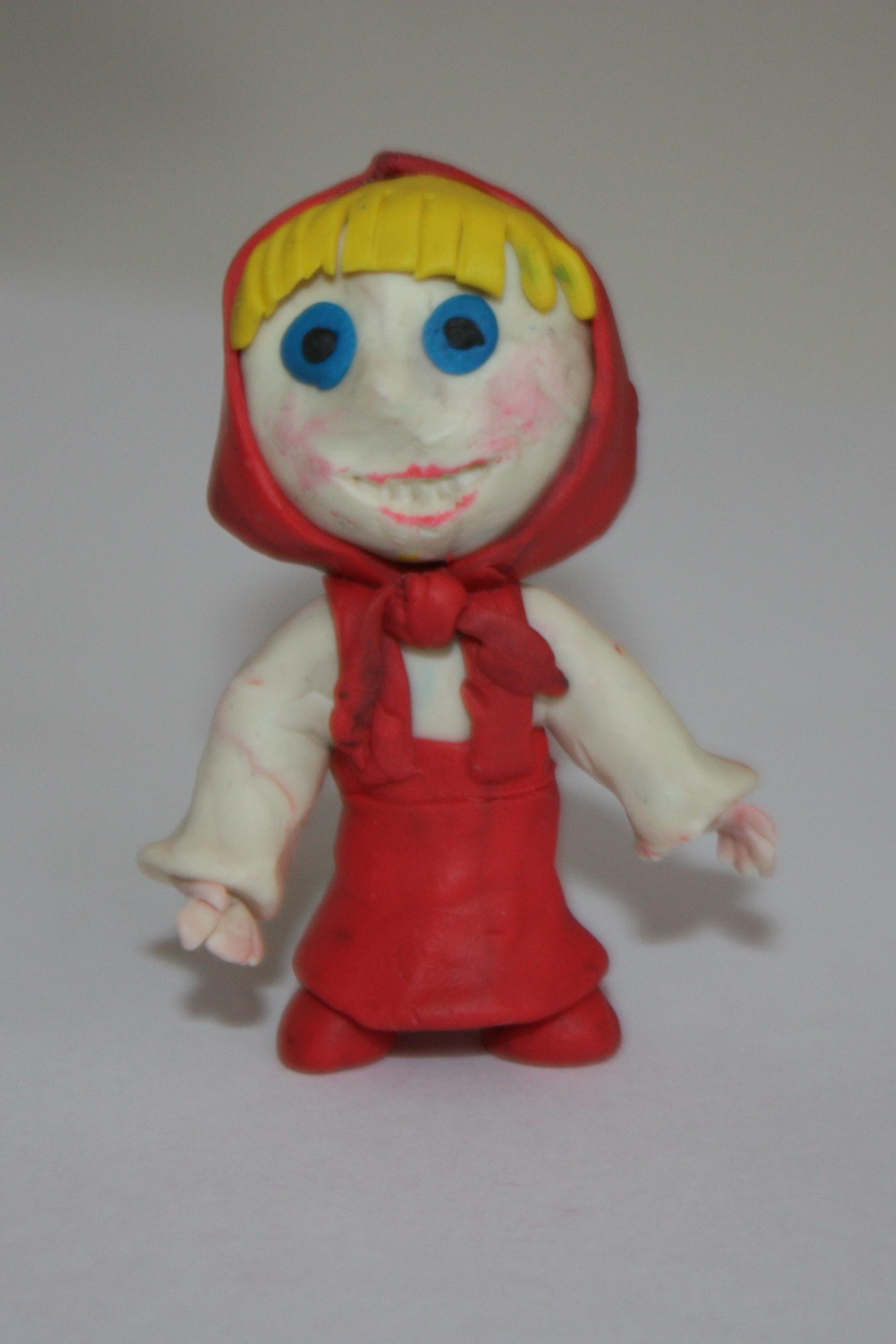 Поделка сказочный герой своими руками из пластилина