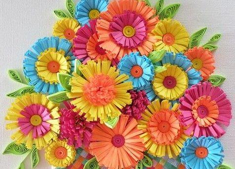 объемные цветы из бумаги_4