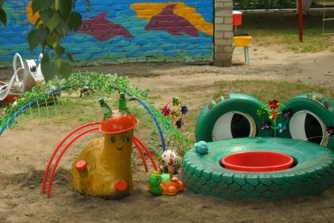 14Как сделать  песочница для детей