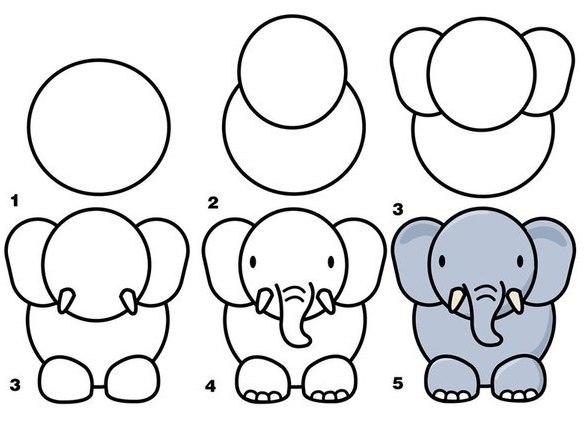 Картинки для рисование для детей