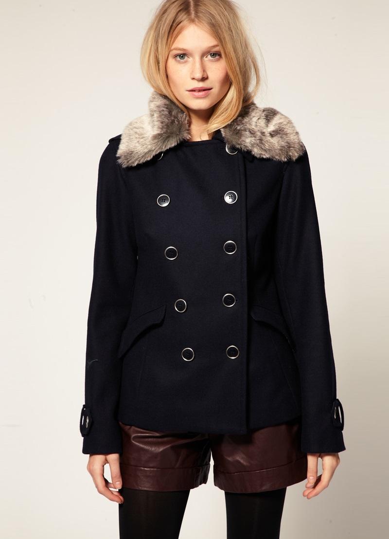 Красивые фасоны пальто