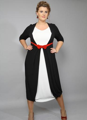 Платье для маленьких толстых женщин