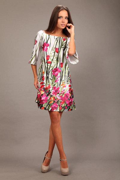 Фасон платья из шифона