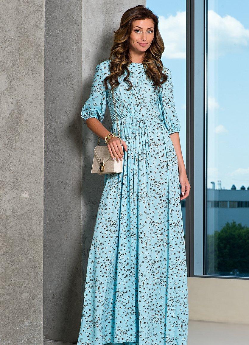 Штапельное платье фасоны