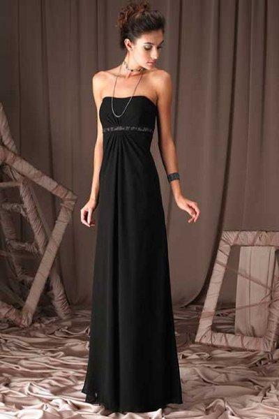Платья в пол прямые вечерние