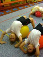 Фитбол-гимнастика в детском саду