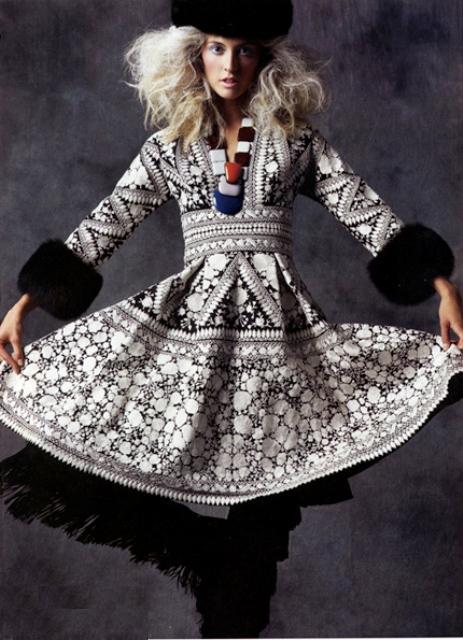 Прическа фольклорного стиля