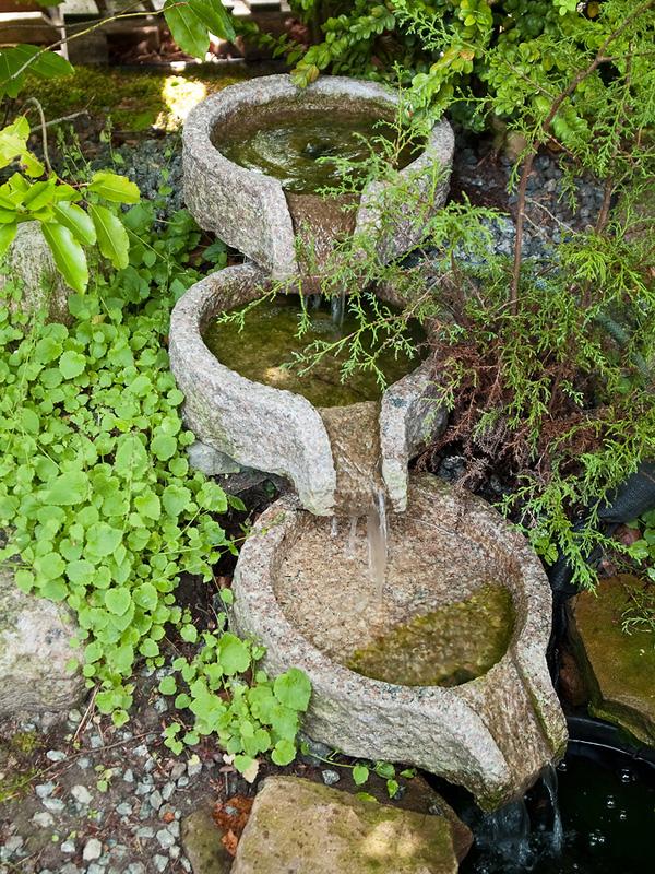 Как в саду сделать фонтан