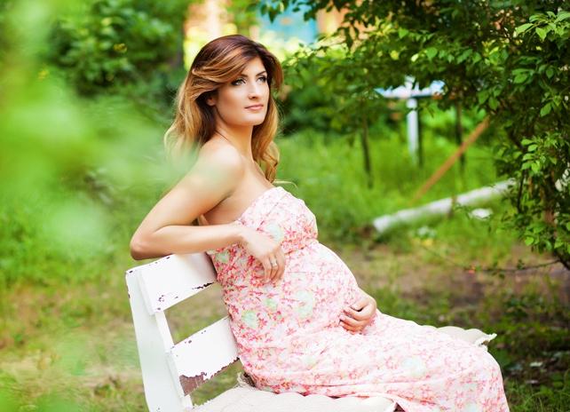 Идеи длясессии беременных на природе 26