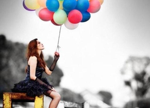 Идеи для фото с шарами воздушными