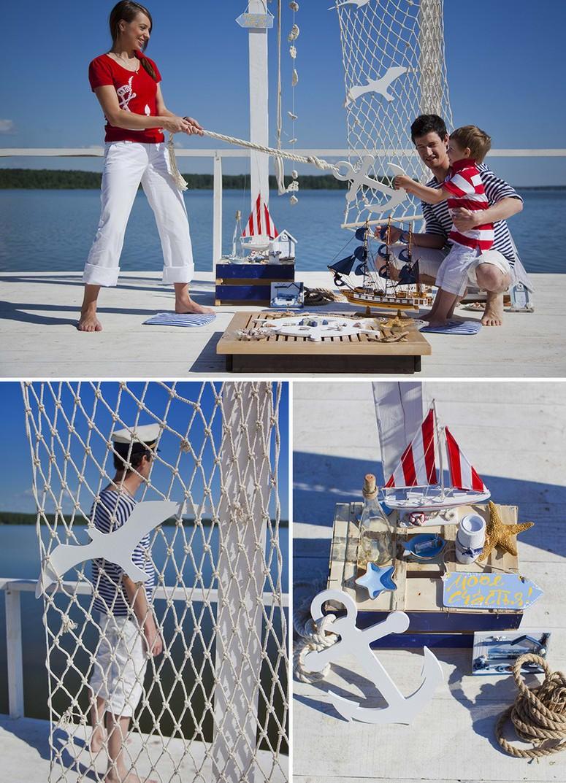 Фотосессии в морском стиле