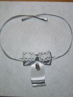 Галстук-бабочка из атласной ленты своими руками