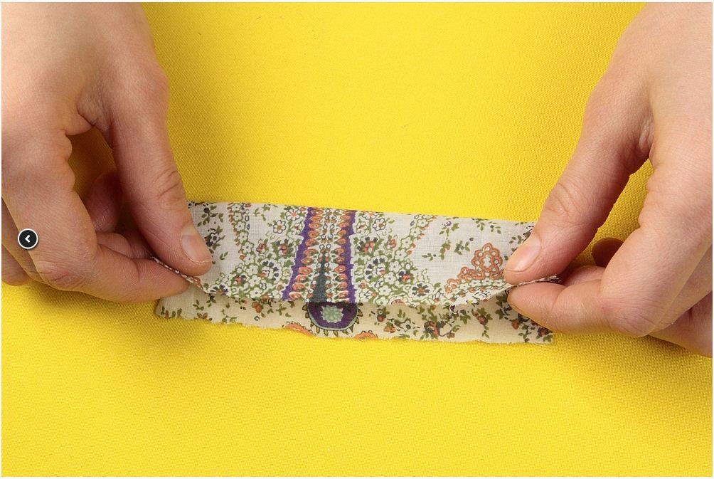 Бабочка галстук из ткани своими руками