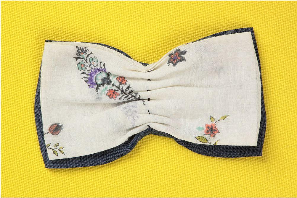 Как сделать галстук бабочку своими руками из