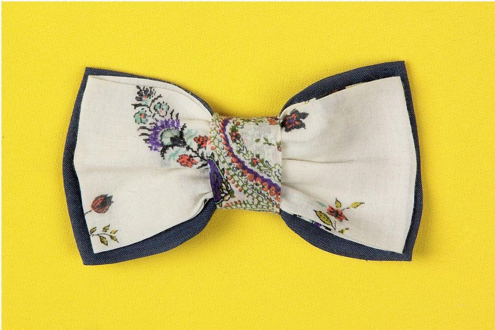 Выкройка бабочки на шею своими руками