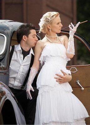 Свадебные гангстерские платья