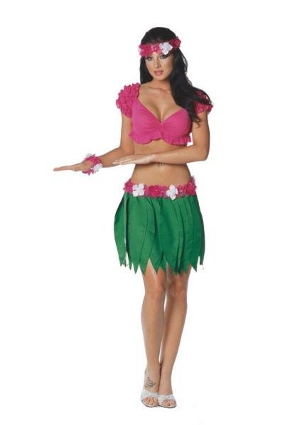 Как костюмы на гавайскую вечеринку