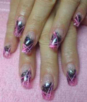 Дизайн квадратных ногтей фото