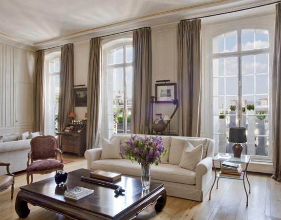 Французские окна в квартире дизайн