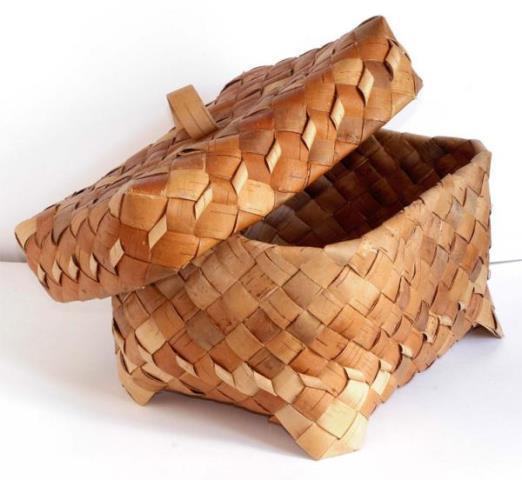 хлебница из бересты 8