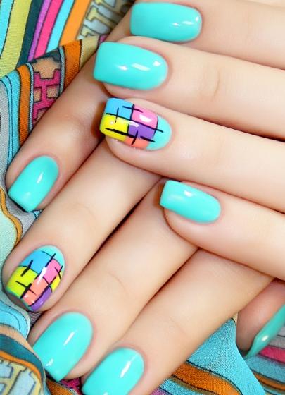 Ногти дизайн ногтей с помощью