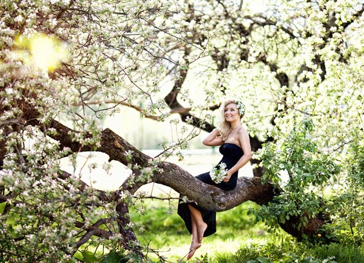 Фото в парке идеи летом