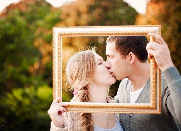 оригинальное фото пары