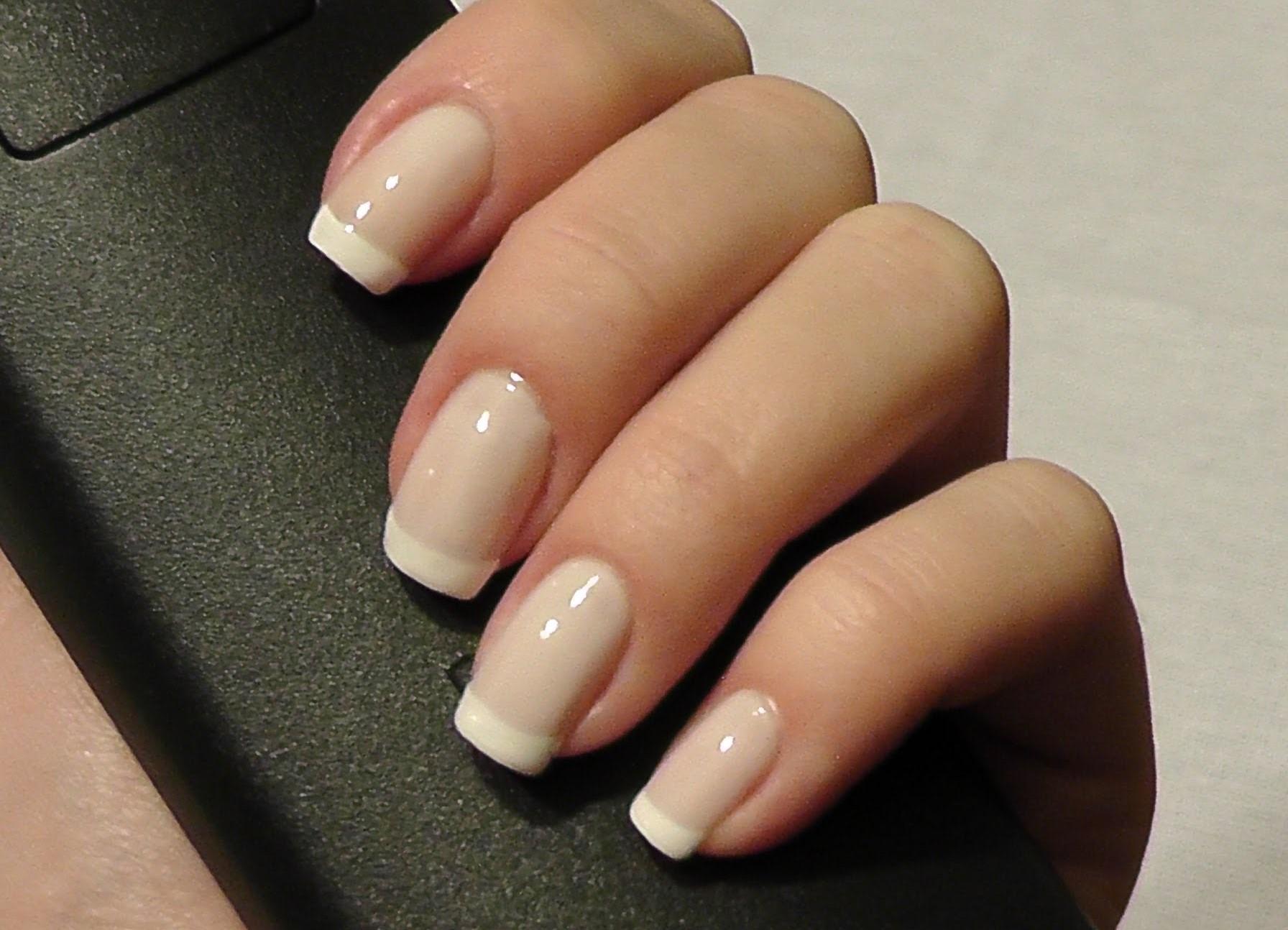 Маникюр для очень коротких ногтей