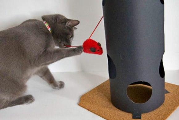 Игрушки для кошек фото своими руками 89