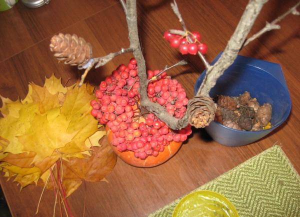 Осенняя икебана своими руками фото 28