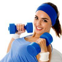 Набор упражнений для девушек в тренажерном зале для