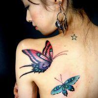 что означает тату бабочка