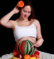 Арбуз беременность