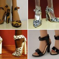Туфли для барби своими руками фото
